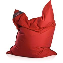 Sitzsack Big Foot, Indoor / Outdoor geeignet rot