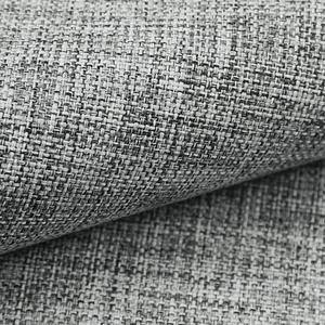 NOVELY® LEHR leicht grob gewebter Polsterstoff melierter Möbelstoff (10 Grau)