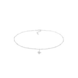 Elli Choker Choker Stern Astro Kristalle 925 Silber