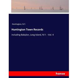 Huntington Town Records als Buch von N. Y. Huntington