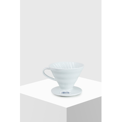 Hario Coffee Dripper V60 02 Ceramic white Kaffeefilter