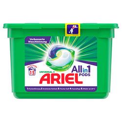 ARIEL UNIVERSAL Allin1 PODS Waschmittel 15 St.