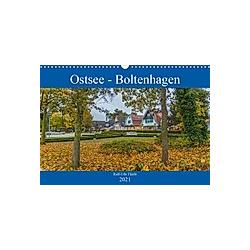 Ostsee - Boltenhagen (Wandkalender 2021 DIN A3 quer)