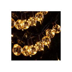 Quntis LED-Lichterkette, 11,7M, 30er +3 Lampe Glühbirnen E12, 155 LEDs