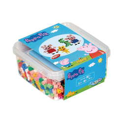 Hama Perlen Bügelperlen HAMA 8750 Bügelperlen-Box Peppa Pig, 900