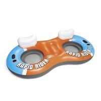 BESTWAY Schwimmring »Hydro-Force™RAPID Rider II« (1-tlg), BxLxH: 122x240x50 cm,