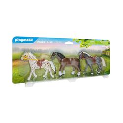 Playmobil® Spielfigur PLAYMOBIL® 70683 3 Pferde