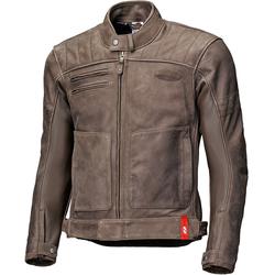 Held Hot Rock Motorrad Lederjacke, braun, Größe 52
