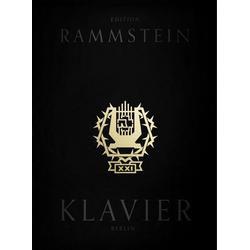 Rammstein: XXI Notenbuch Klavier (Book & CD) als Buch von Rammstein