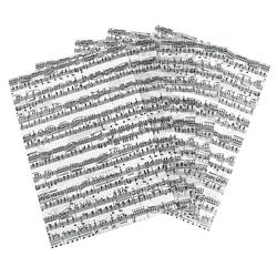 URSUS Transparentpapier Noten, 5 Stück