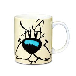 LOGOSHIRT Tasse mit tollem Asterix-Print Idefix Gesicht bunt