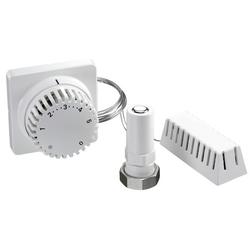 Oventrop Thermostat Uni FH mit Fernverstellung, weiß Kapillarrohr 2000 mm