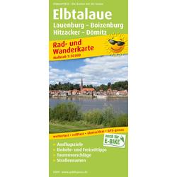 Elbtalaue Lauenburg - Boizenburg Hitzacker - Dömitz 1:50 000