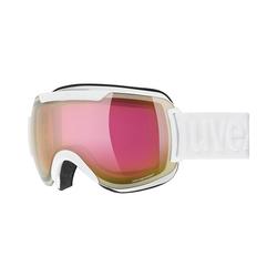 Uvex Skibrille Skibrille Downhill 2000 FM Black Mat/Rose rosa