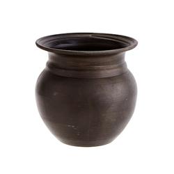 Madam Stoltz Vase Ø 8cm Antikschwarz