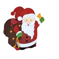URSUS Windlicht Weihnachtsmann, inklusive Anleitung