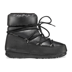 Moon Boots Low Nylon WP 2 - Moon Boots flach - Damen Black 37 EUR