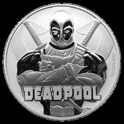 1 Unze Silber Marvel Deadpool 2018