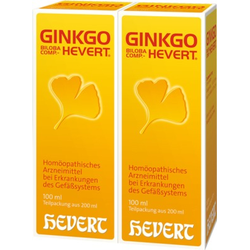GINKGO Biloba comp. HEVERT Tropfen