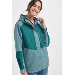 Next Regenjacke Wasserfeste Jacke mit Blockstreifen 40