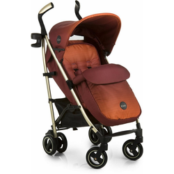 iCoo Kinder-Buggy Pace Mocca, mit leichtem Aluminiumgestell
