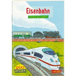 Pixi Wissen 28: VE 5: Eisenbahn: Buch von Nicole Künzel