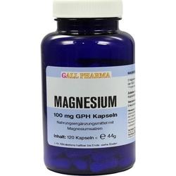 MAGNESIUM 100 mg Kapseln 120 St.