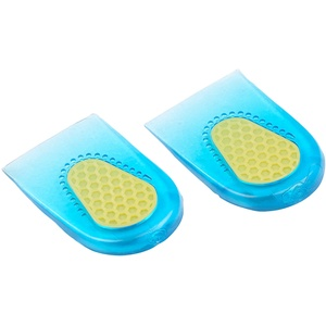 Dämpfende Fersenkissen aus Silikon-Gel, 1 Paar in Einheitsgröße