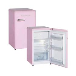 Wolkenstein Kühlschrank KS95RT SP KS95RT SP, 87.1 cm hoch, 50.6 cm breit, Standkühlschrank 88 Liter Retro-Design pink