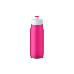 Emsa Squeeze Bottle Sport in pink, 0,6 l