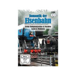 Romantik der Eisenbahn: Groß Dampfloktreffen & Paraden DVD
