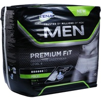 Tena MEN Premium Fit Protective Underwear Level 4 L 10 St.