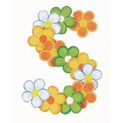 Rayher Holz-Streudeko Blumen 16 St.