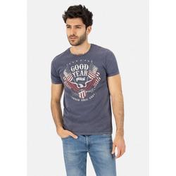 Goodyear T-Shirt JAMESTOWN in stylischer Vintage-Optik S