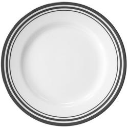 Fink Platzteller Moments, Set, 4-tlg., Ø 30 cm, Porzellan mit Streifen
