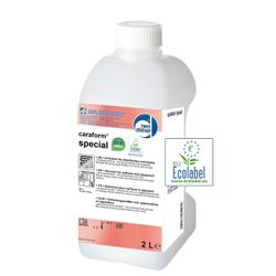 Dr. Weigert caraform® special Entkalker, Saurer Kalklöser für die Reinigung verkalkter Geräte und Oberflächen, 2 Liter - Flasche
