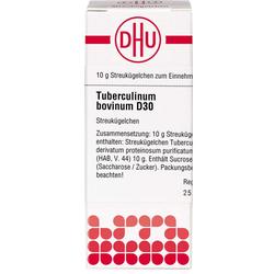 TUBERCULINUM BOVINUM D 30 Globuli 10 g