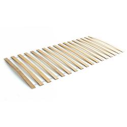 Lattenrost Rollrost mit Federleisten Birke 90 x 200 cm natur