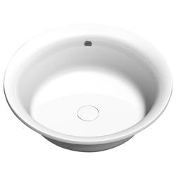 HAK Rundwanne OBLO runde Badewanne mit Rahmengestell, 165x48 cm