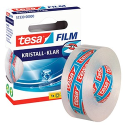 tesa Klebefilm kristall-klar 19,0 mm x 33,0 m 1 Rolle