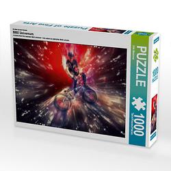 BMX Universum Lege-Größe 64 x 48 cm Foto-Puzzle Bild von Dirk Meutzner Puzzle