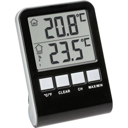 TFA Dostmann Funk-Poolthermometer Palma Poolthermometer Schwarz