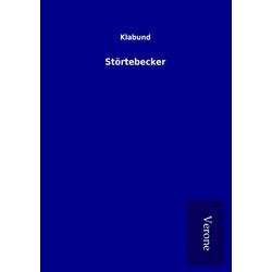 Störtebecker als Buch von Klabund