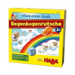 Haba Lernspielzeug Meine ersten Spiele - Regenbogenrutsche