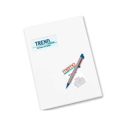 memo Angebotsmappe weiß 270 g/m² m.F. 21 x 30 cm