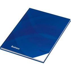 Notizbuch Business A5 blau dotted 96 Blatt