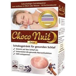 CHOCO NUIT Gute-Nacht-Schokogetränk Pulver 10 St