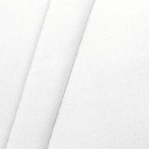 STOFFKONTOR 100% Baumwolle Molton universal Breite 150 cm Stoff Meterware Weiss