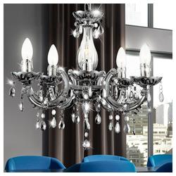 etc-shop Kronleuchter, LED 15 Watt Hängeleuchte Hängelampe Kronleuchter Deckenbeleuchtung Lampe Luster