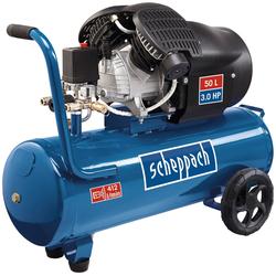 Scheppach Doppelzylinder Kompressor HC53dc blau